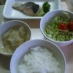 昨日の病院食夕食です