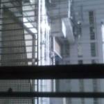 病室の窓からの景色…